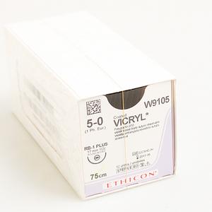 Chỉ phẫu thuật Vicryl 5-0 (tròn) W9105