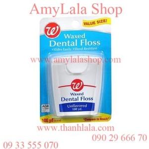 Chỉ tơ nha khoa WG Waxed Dental Floss - 0933555070 - 0902966670 - www.amylalashop.com :