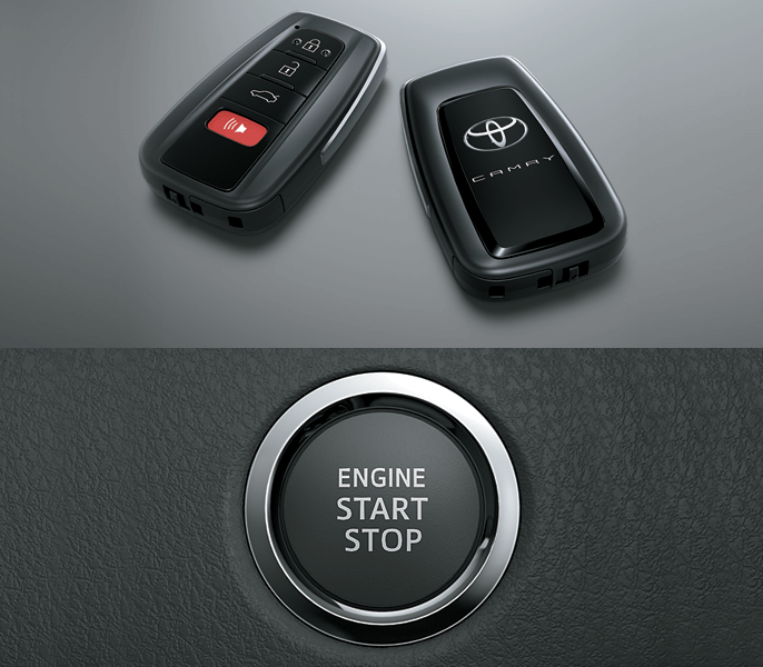 Chìa khóa thông minh camry