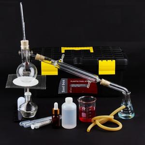 Chiết xuất tinh dầu bằng hơi nước mini 100 ml - chất liệu thủy tinh