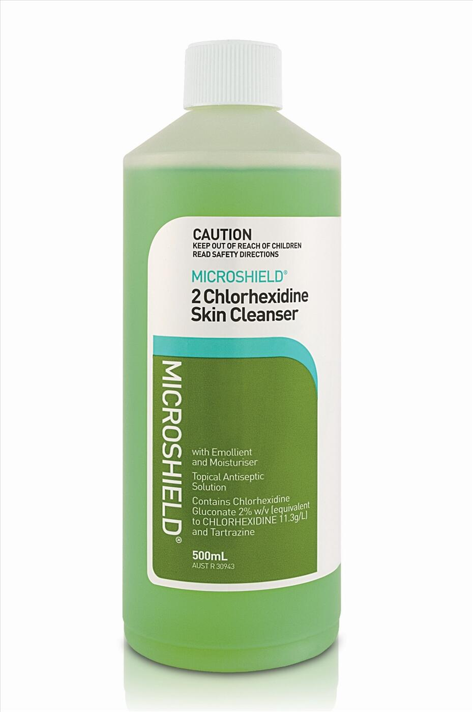 Dung dịch sát khuẩn ngoài da Microshield 2 Chlorhexidine Skin Cleanser 500 ml & 5 lít