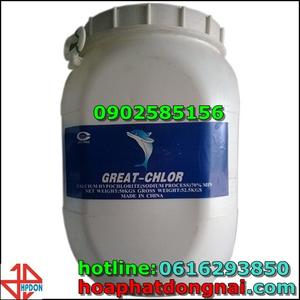 Chất khử trùng Chlorine (Calcium hypochlorite Ca(ClO)2) 65%
