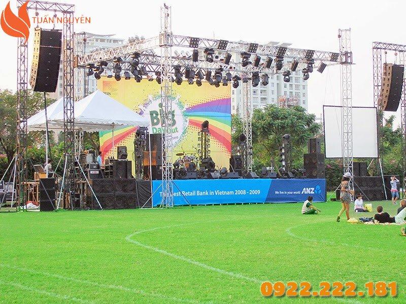 Cho thuê thiết bị âm thanh, ánh sáng giá rẻ tại HCM - Tuấn Nguyễn
