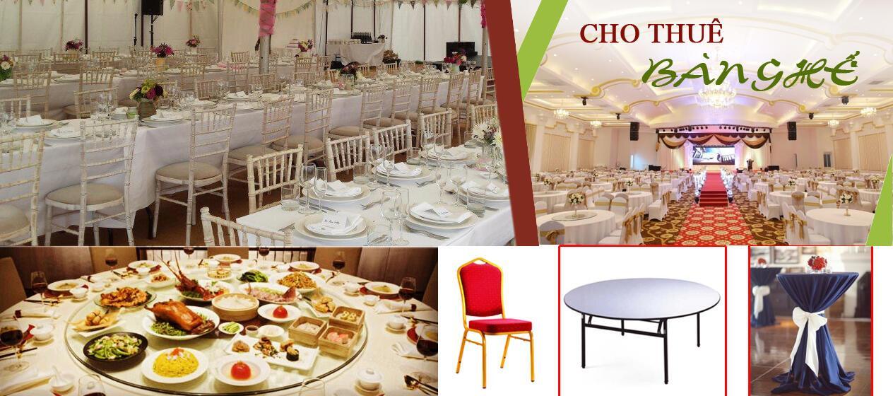 Dịch vụ cho thuê thiết bị tiệc cưới uy tín tại TP.HCM