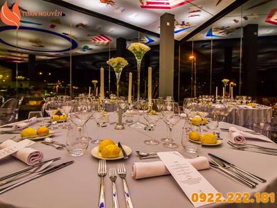 Cho thuê bàn ghế chén dĩa giá rẻ tại Quận Gò Vấp, HCM