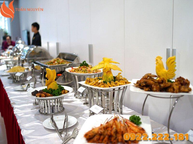 Cho thuê dụng cụ làm tiệc Buffet giá rẻ tại TP. HCM - Tuấn Nguyễn