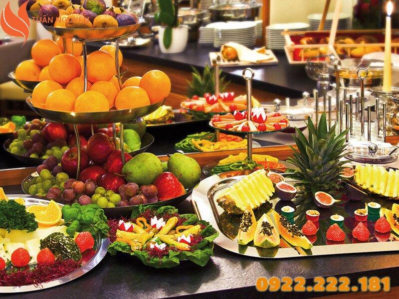 Cho thuê dụng cụ buffet giá rẻ tại TP. HCM