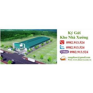 Cho thuê kho chứa hàng tại KCN Sóng Thần - Bình Dương