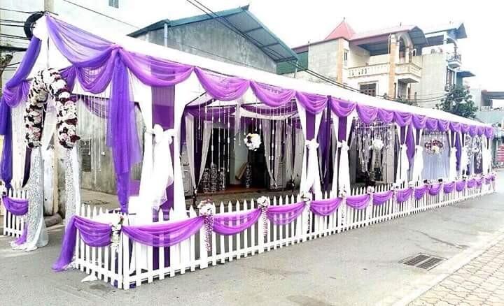 Cho thuê khung rạp đám cưới, hội chợ tại TPHCM