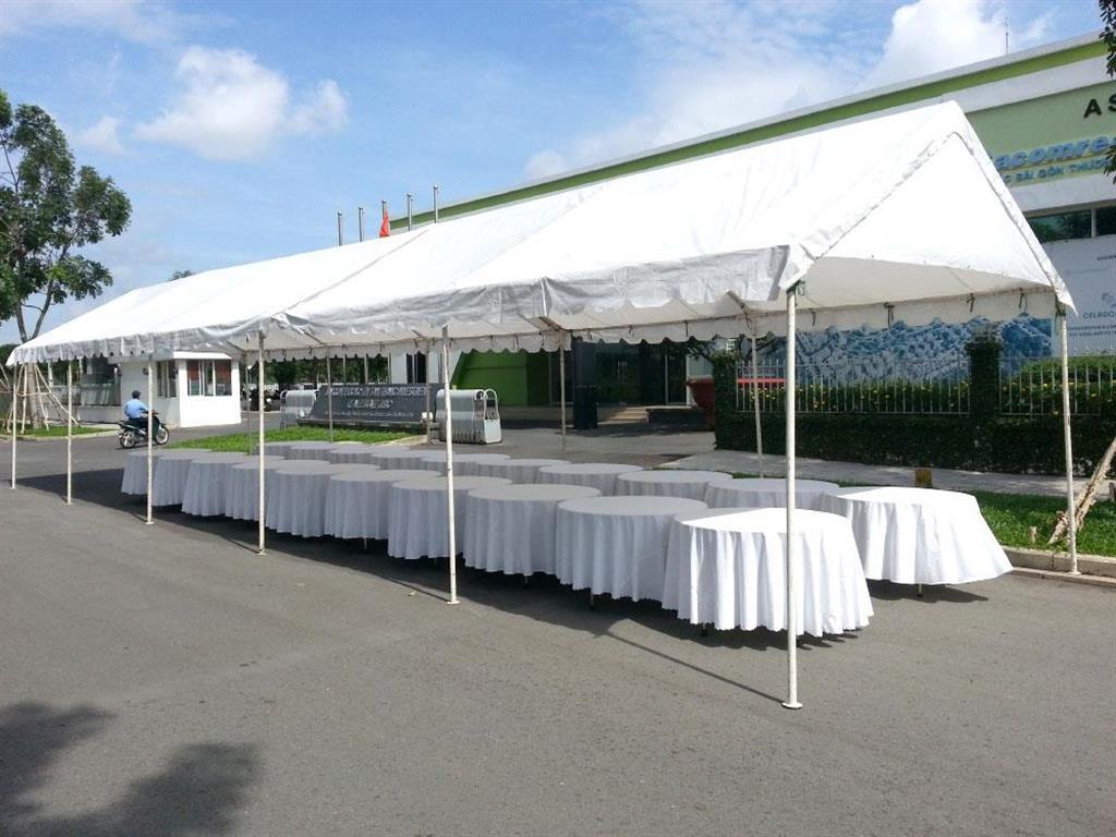 Cho thuê khung rạp hội chợ, đám cưới tại TPHCM