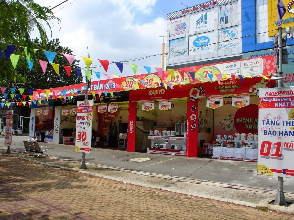 Điểm cho thuê nhà bạt hội chợ giá rẻ tại TPHCM
