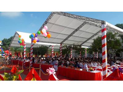 Cho thuê khung rạp hội chợ, đám cưới giá rẻ tại Quận 5 TPHCM – Tuấn Nguyễn