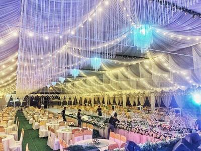 Cho thuê khung rạp hội chợ, đám cưới giá rẻ tại Quận 7 TPHCM – Tuấn Nguyễn