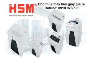 Cho thuê máy hủy giấy giá rẻ tại TPHCM