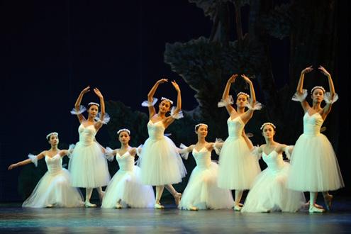 Hình ảnh nhóm múa, vũ đoàn trong buổi biểu diễn
