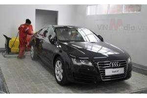 Choáng máy rửa xe 200 triệu tại Việt Nam Audi sở hữu