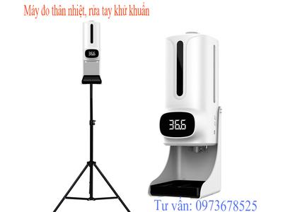 Chọn máy đo thân nhiệt tự động cho lớp học ( K9 Pro Plus )