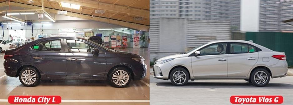 Chọn Vios bản G hay Honda City bản 1.5L