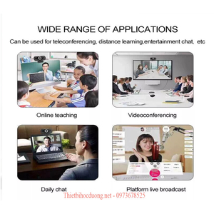 Học online với Webcam HD 1080P