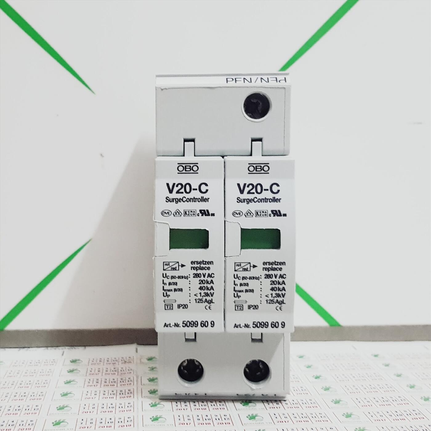 Chống sét lan truyền OBO V20-C2-280