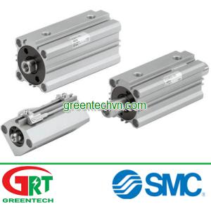 Hydraulic cylinder / double-acting / compact SMC | Xilanh SMC CHQ | SMC Vietnam | SMC khí nén