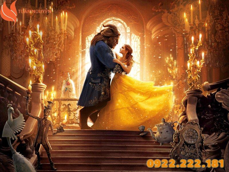 Nơi bắt nguồn của chủ đề tiệc cưới mang phong cách Beaty and the Beast