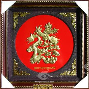Chữ Phúc, Lộc, Thọ, Đức, Tâm, Nhẫn hóa rồng