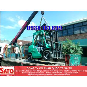 Chuyên cho thuê xe nâng tại huyện Cần Giờ - TPHCM