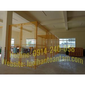 Chuyên thiết kế thi công lắp đặt vách lưới - khung kho lưới thép hàn