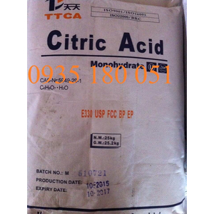 Axit citric C6H8O7