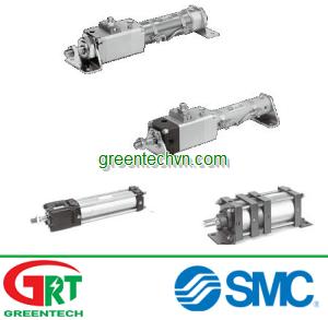 Pneumatic cylinder / double-acting / rod lock ø 16 - 160 mm   CL series  SMC Pneumatic   SMC Vietnam