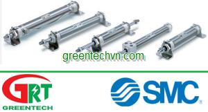 Pneumatic cylinder / double-acting / compact / waterproof   CM2 series  SMC Pneumatic   SMC Vietnam