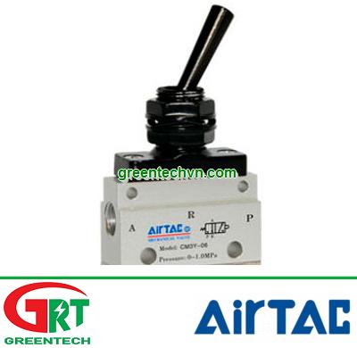 Airtac CM3   CM   Van đk khí nén CM3   Manually-controlled valve CM3   Airtac Việt Nam
