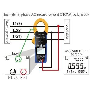 Kìm đo công suất CM3286 Hioki