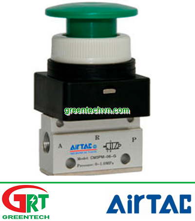 Airtac CM3M-06   CM3M-06   Van đk khí nén CM3M-06   Manually-controlled valve CM3M   Airtac Việt Nam