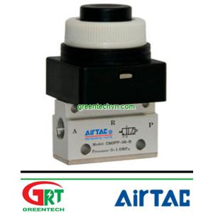 Airtac CM3P-06   CM3P-06   Van đk khí nén CM3P-06   Manually-controlled valve CM3P   Airtac Việt Nam