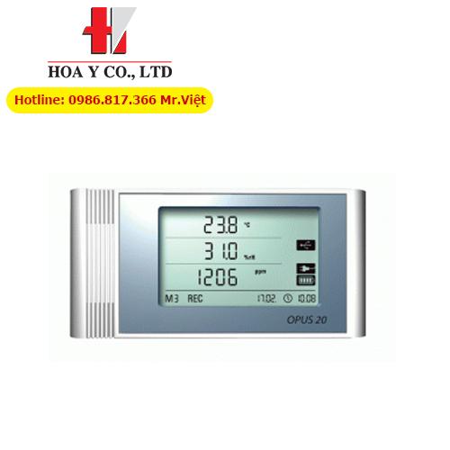 Data Logger ghi nhiệt độ, độ ẩm và khí CO2 OPUS 20 TCO