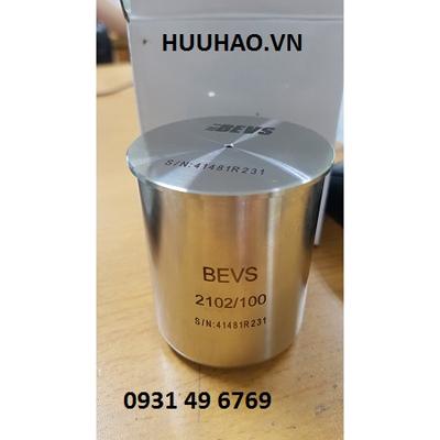 Cốc đo tỉ trọng màu trắng BEVS 2102/100