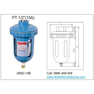 CỐC XẢ NƯỚC TỰ ĐỘNG UFAD-150