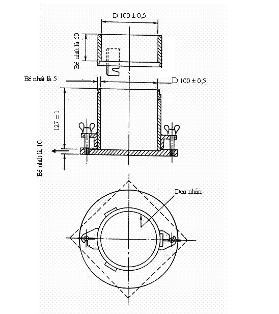 cối chày proctor tiêu chuẩn