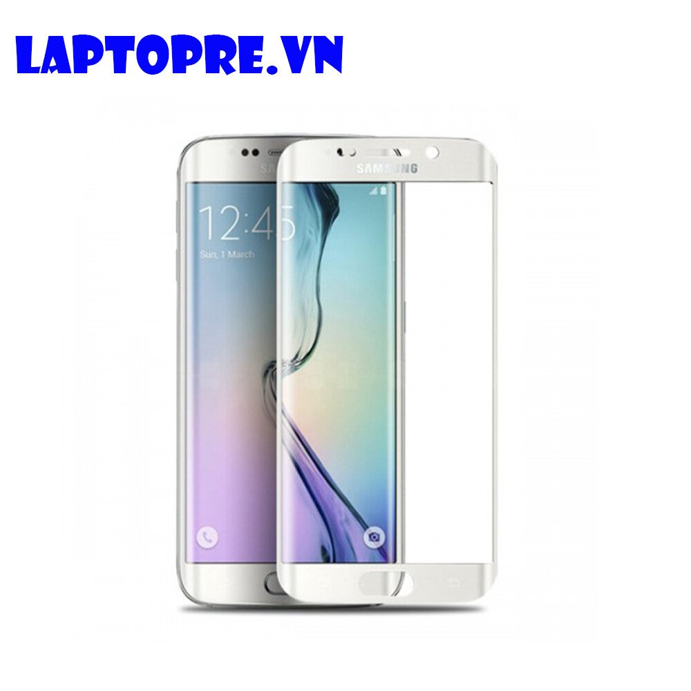 Miếng dán cường lực cho Samsung Galaxy S6 SA (trắng)