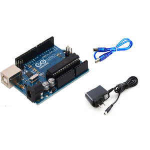Combo mạch arduino UNO R3 chip cắm + nguồn 9V1A