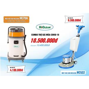 Combo máy chà sàn - hút bụi HC522 HC70A