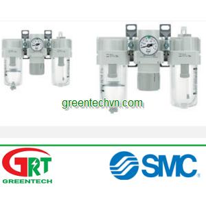 Compressed air filter-regulator-lubricator 0.5 MPa | AC series | SMC Vietnam | SMC Thiết bị