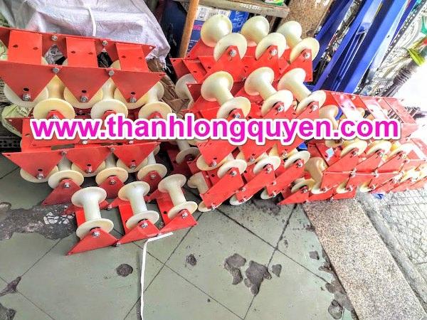 con lăn kéo dây cáp điện hl-iii 3 puly 145mm-165mm