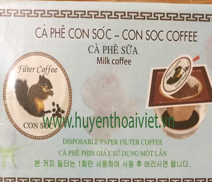 Cafe CON SÓC SỮA ( hộp Màu Trắng)