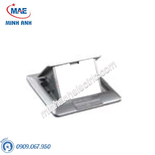 Ổ cắm âm sàn cho Concept có đế âm, màu nhũ bạc - Model CON224_ABE_G5