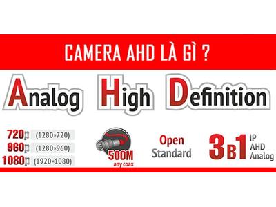 CÔNG NGHỆ AHD (ANALOG HIGH DEFINITION)