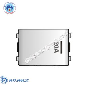 Công tắc 2 cực 20A cỡ trung có dạ quang - Model SCMD20/FM
