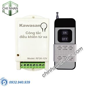 Công Tắc Điều Khiển Từ Xa 2 Kênh 12V - RF2K-12V-RM2C (200W/kênh) - KAWASAN